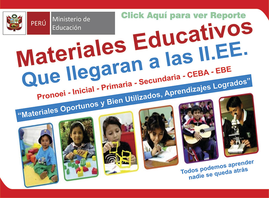 ENTREGA DE MATERIALES EDUCATIVOS A IIEE 2020